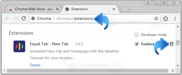 Equal Tab Chrome Extension