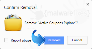 Delete Search.hactivecouponsexplore.com from Chrome