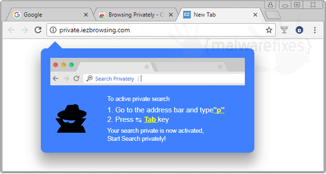Remove Browsing Privately (Google Chrome) | MalwareFixes