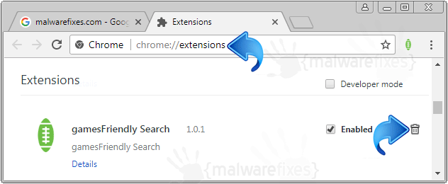 GamesFriendly Search Chrome Extension
