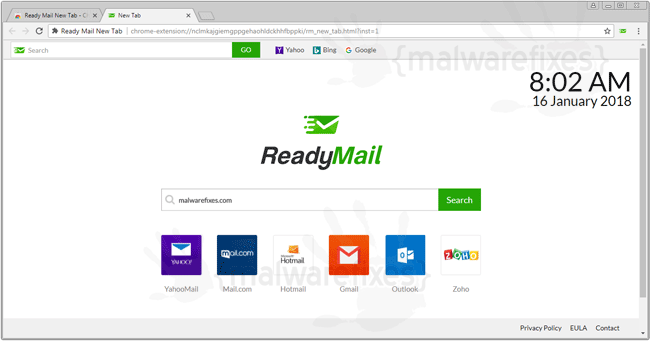 Ready Mail New Tab