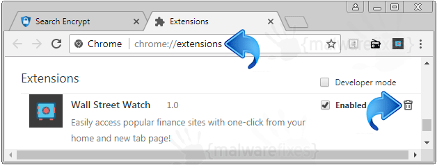 Wall Street Watch Chrome Extension