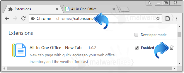 All in One Office - New Tab Chrome Extension