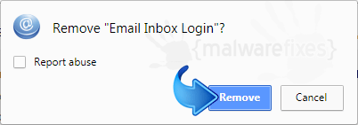 Delete Search.hemailinboxlogin.com from Chrome