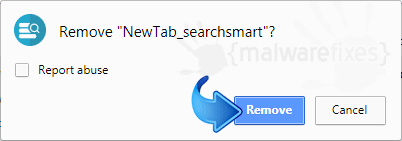 Delete NewTab_searchsmart from Chrome