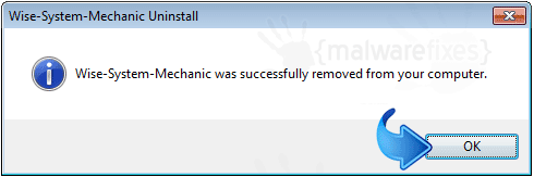 Wise System Mechanic Remove Successfully