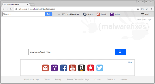 Image of Search.hemailinboxlogin.com website