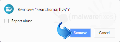 Delete SearchSmartDS from Chrome