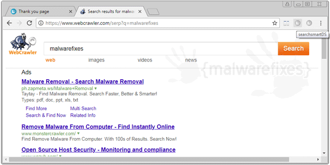 SearchSmart - WebCrawler