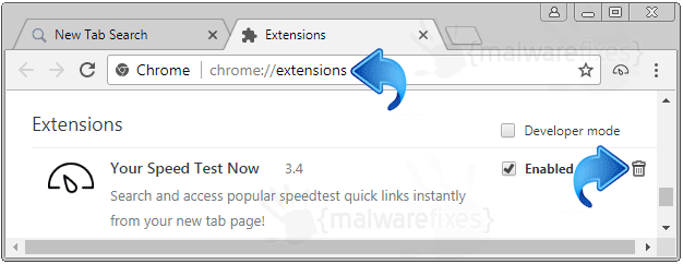 Search.quickspeedtest.co Chrome Extension