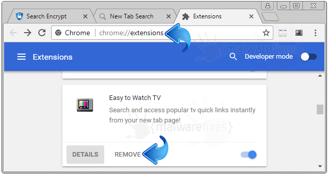 Search.seasytowatchtv2.com Chrome Extension