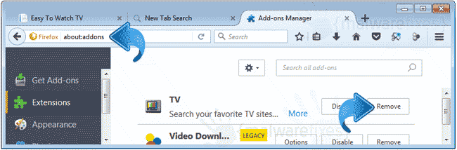 Search.seasytowatchtv2.com Firefox Extension