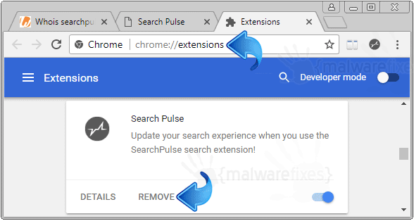 Search Pulse Chrome Extension