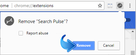 Delete Search Pulse Extension
