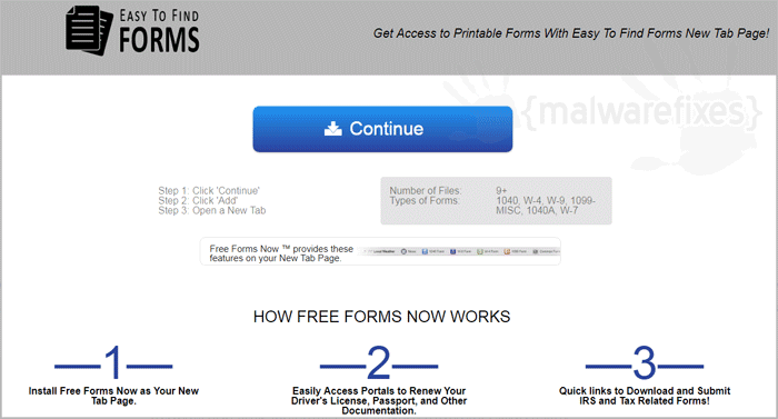 Easy To Find Forms