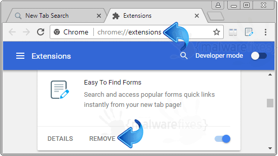 Easy To Find Forms Chrome Extension