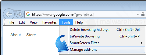 Internet Explorer Add-ons