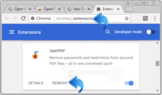 OpenPDF Chrome Extension