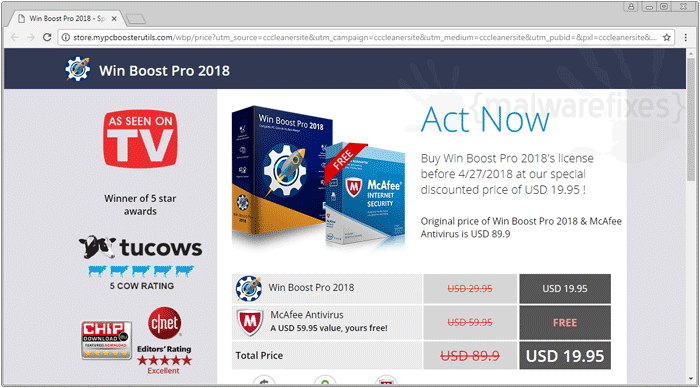 Image of Win Boost Pro 2018 activation