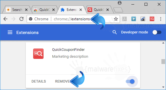 QuickCouponFinder Chrome Extension