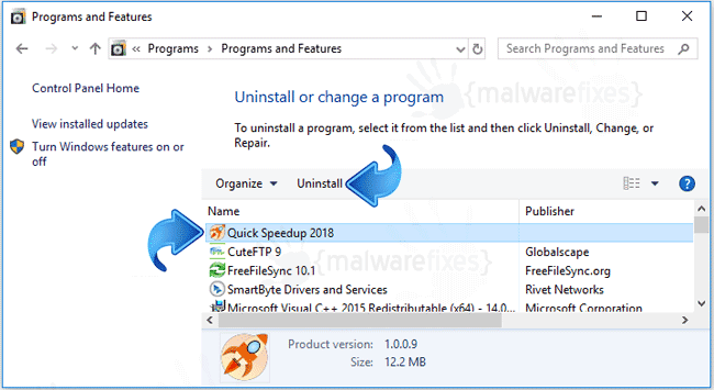 Add-Remove Quick Speedup 2018