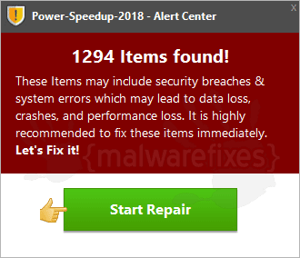 Power Speedup 2018 Alert Center