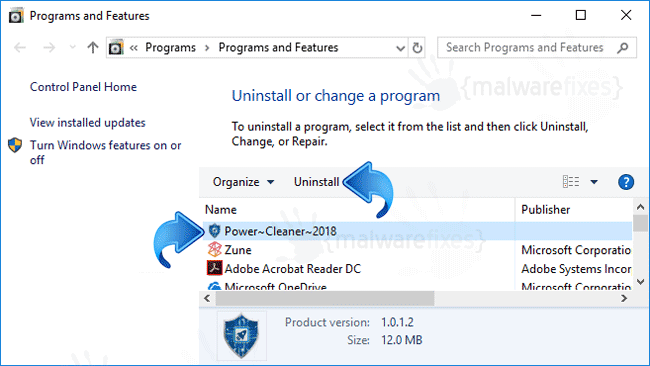 Add-Remove Power Cleaner 2018