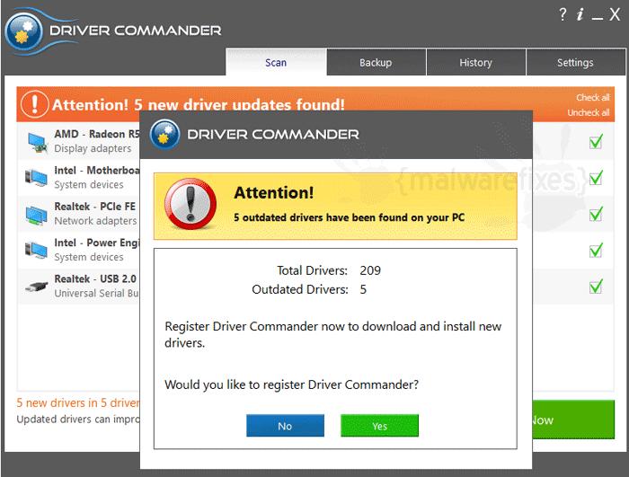 Drivercommander