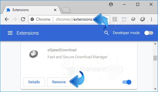 eSpeedDownload Chrome Extension