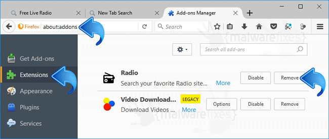 Free Live Radio Firefox Extension