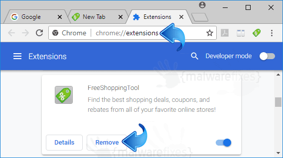 FreeShoppingTool Chrome Extension