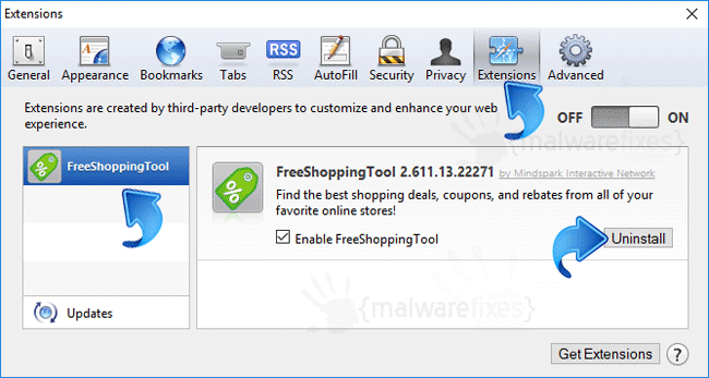FreeShoppingTool Safari Extension