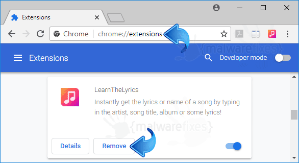 LearnTheLyrics Chrome Extension