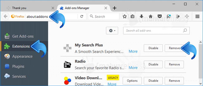 My Search Plus Firefox Extension