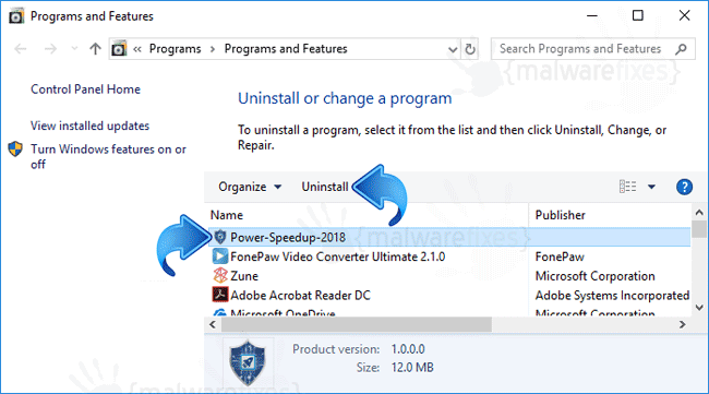 Add-Remove Power Speedup 2018