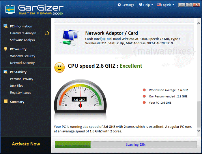 GarGizer System Repair