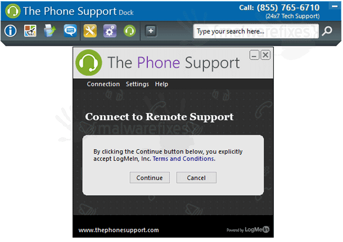 The Phone Support Dock