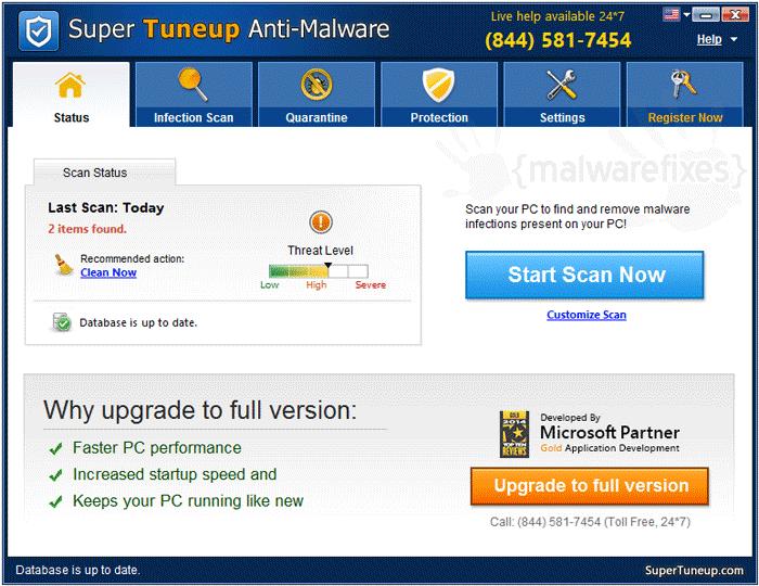 Super Tuneup Anti-Malware