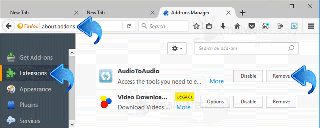 AudioToAudio Firefox Extension