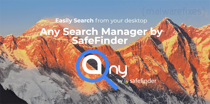 Image of Any Search Manager website