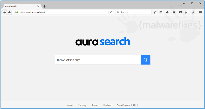 Image of Aura Search website