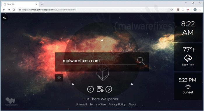 Newtab.getwallpapers.fm