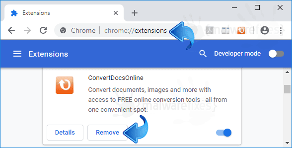 ConvertDocsOnline Chrome Extension