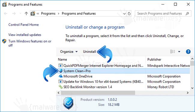 Add-Remove System Clean Pro