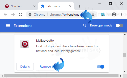 MyEasyLotto Chrome Extension
