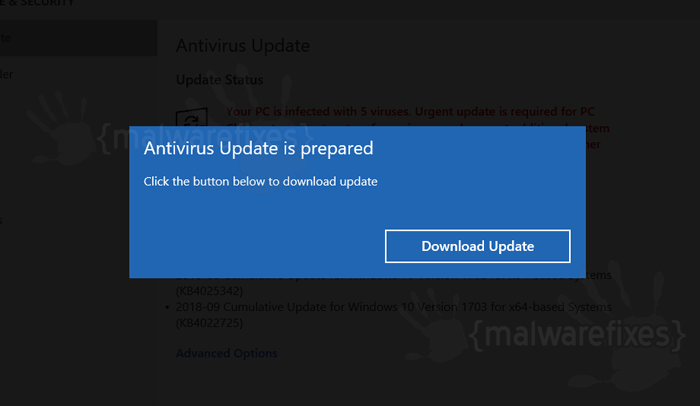 antivirus update for pc