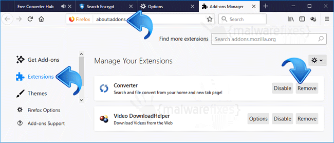 Search.searchfch.com Firefox Extension