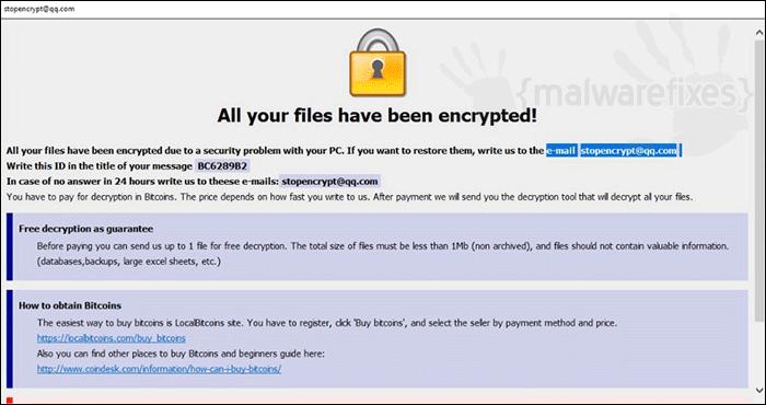 Adobe Ransomware