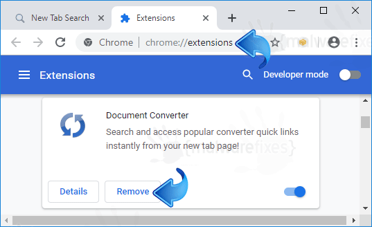 Search.hdocumentconverter.app Chrome Extension