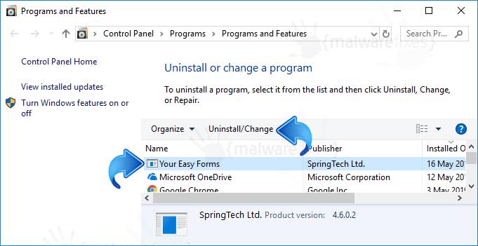 Add-Remove Search.hyoureasyforms.com
